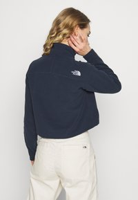 The North Face - GLACIER CROPPED ZIP - Fleecová mikina - urban navy - 2