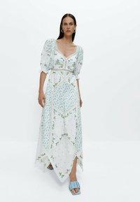 Uterqüe - Maxi dress - white - 0
