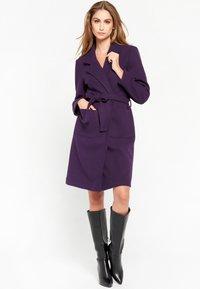 LolaLiza - Trenchcoat - purple - 4