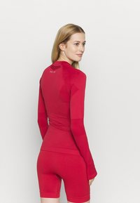 NU-IN - COMPRESSION  - Long sleeved top - red - 2