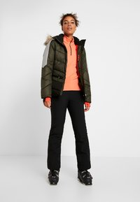 Icepeak - ELECTRA - Snowboard jacket - dark green - 1