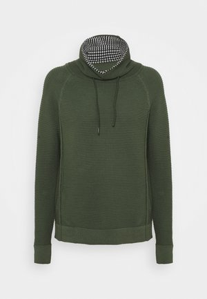 TUNNEL NECK - Jumper - light khaki