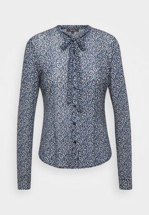 OLIVIA BLOUSE MOONLIGHT - Skjorte - tokyo blue