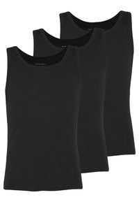 Pier One - 3 PACK - Undershirt - black - 0