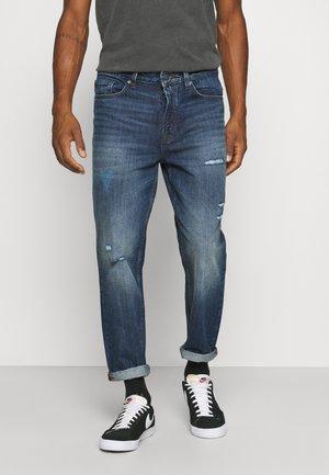 ONSAVI BEAM LIFE CROP BLUE  - Relaxed fit jeans - blue denim