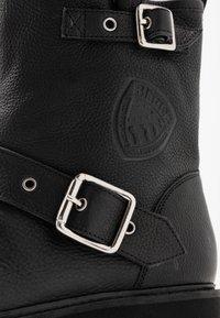 Blauer - IRVINE - Cowboy/biker ankle boot - black - 2