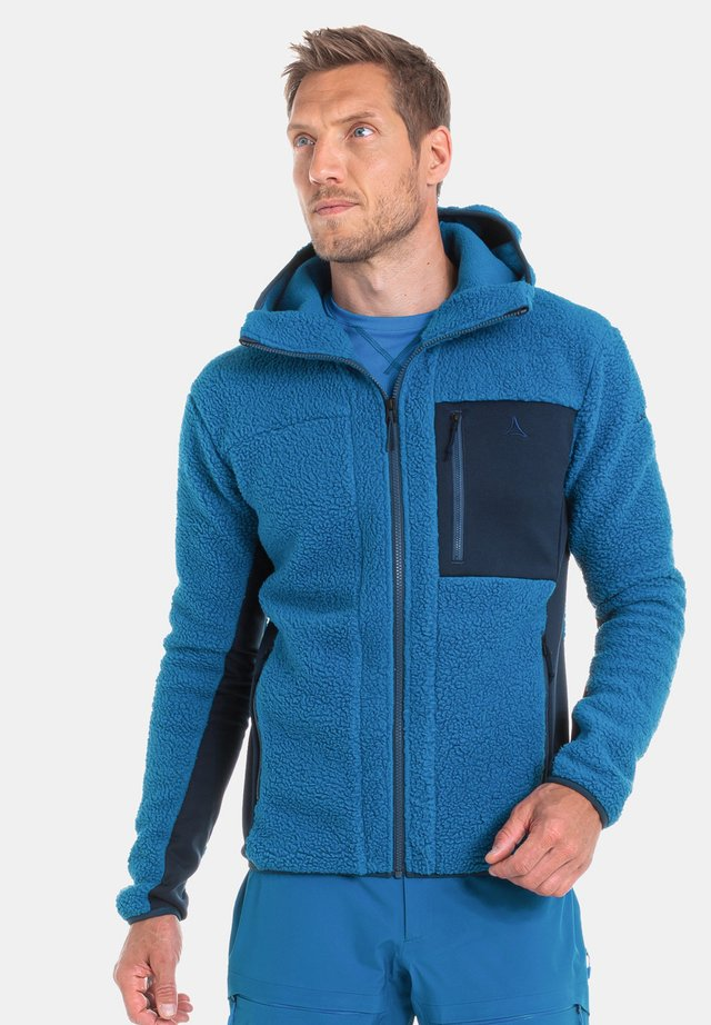 Fleece jacket - 8878 - blau