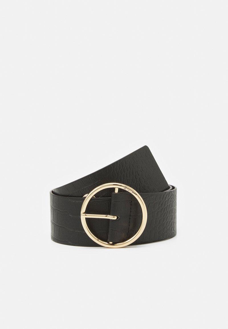 Pieces - PCFIWA WAIST BELT - Waist belt - black/gold-coloured