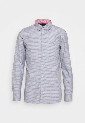 SLIM DOTTED SQUARE PRINT - Shirt - yale navy