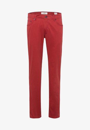 STYLE COOPER FANCY - Trousers - raspberry