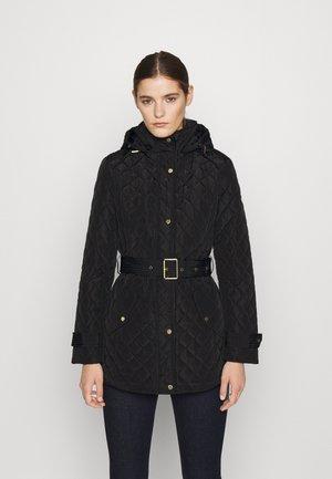 INSULATED COAT - Winter coat - black
