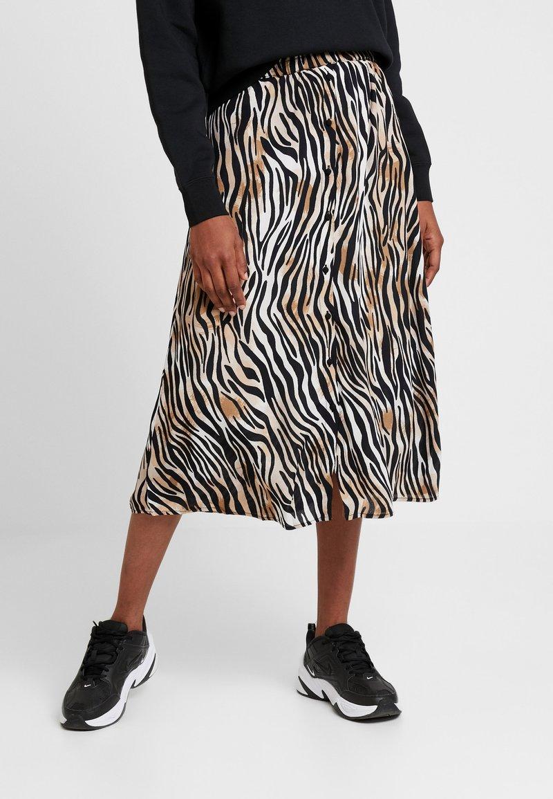Vero Moda - VMSISSEL BUTTON SLIT SKIRT - Maxi skirt - birch