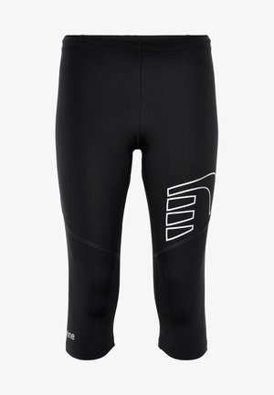 BASE DRY N COMFORT KNEE - Pantalon 3/4 de sport - black