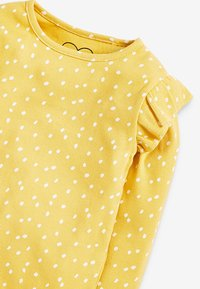 Next - RIB FRILL LONG SLEEVE - Long sleeved top - ochre - 2