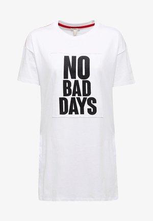 STATEMENT - Print T-shirt - white