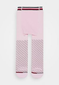 Tommy Hilfiger - BABY TIGHTS SMALL DOTTED STRIPE - Panty - pink combo - 1