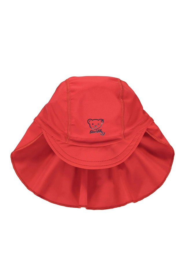 STEIFF COLLECTION MÜTZE MIT SCHILD MIT UV-SCHUTZ - Hat - tango red