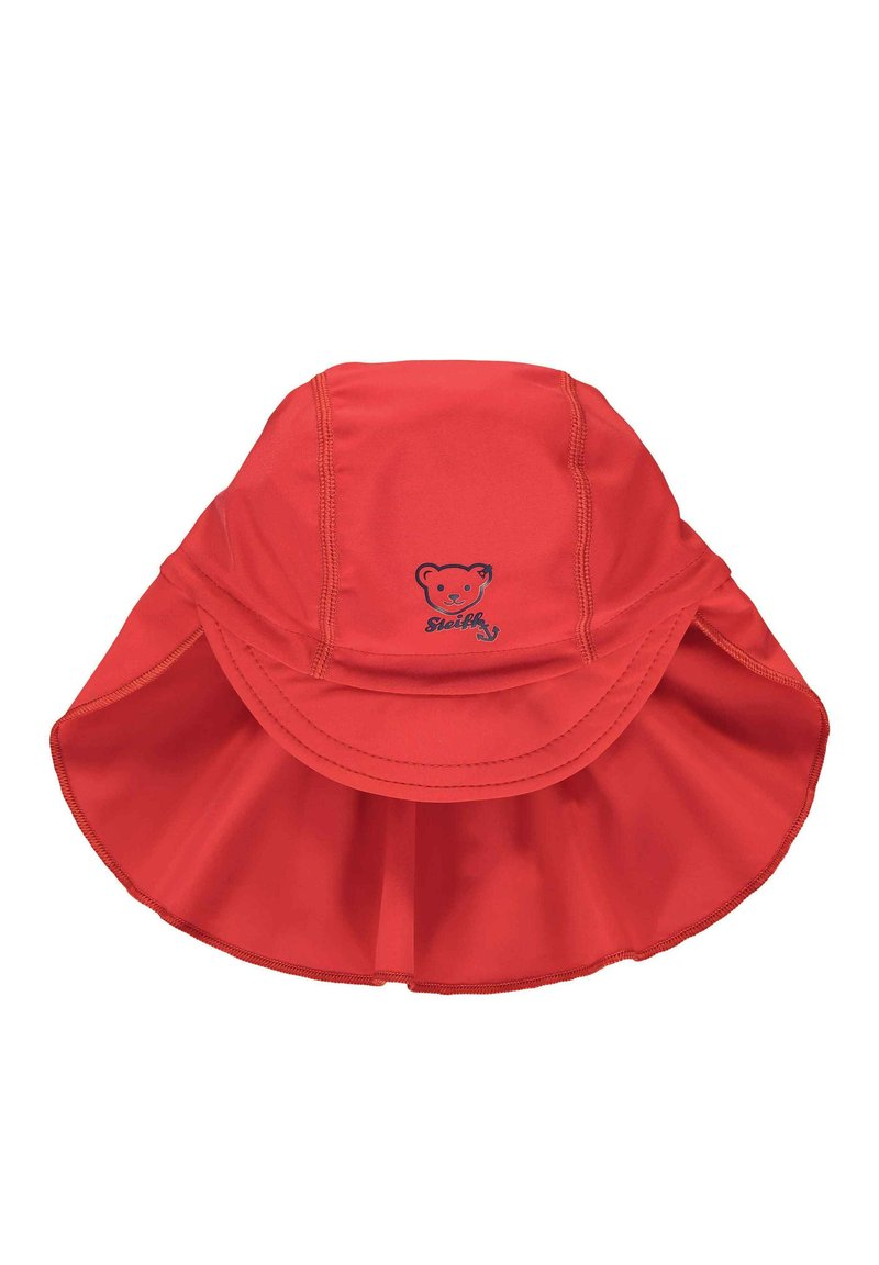 Steiff Collection - STEIFF COLLECTION MÜTZE MIT SCHILD MIT UV-SCHUTZ - Hat - tango red