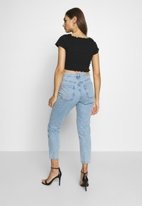 Gina Tricot - DAGNY HIGHWAIST - Relaxed fit jeans - light blue - 2