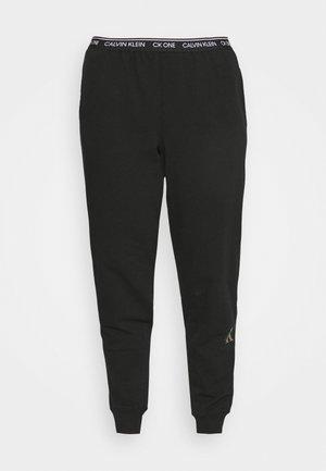 GLISTEN JOGGER - Pyžamový spodní díl - black