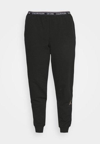 GLISTEN JOGGER - Pyjama bottoms - black