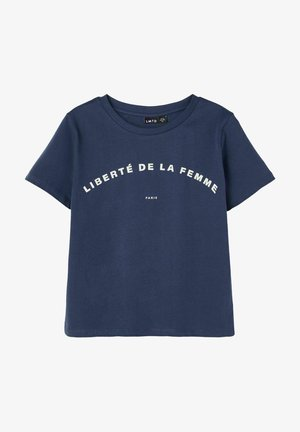 T  SHIRT PRINT - T-shirt print - dress blues
