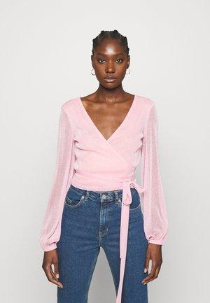 CORINNE - Top sdlouhým rukávem - pastel pink