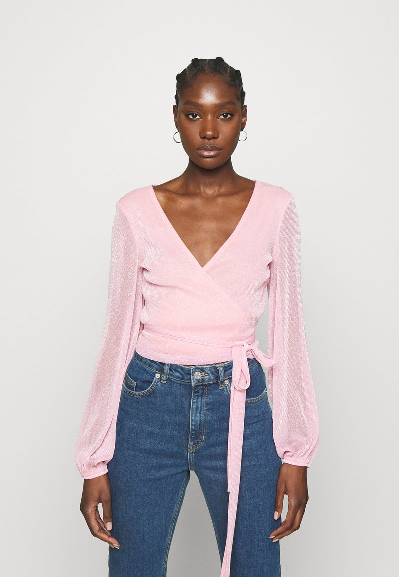 Résumé - CORINNE - Top sdlouhým rukávem - pastel pink