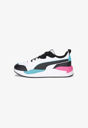 PUMA X-RAY TRAINERS UNISEX - Sneakers laag - black-black-green-pink