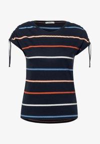 Cecil - Print T-shirt - blau - 2