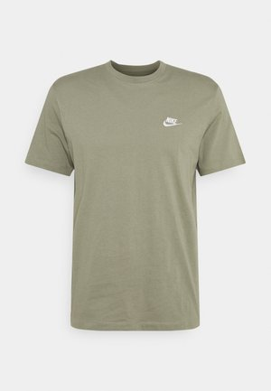 CLUB TEE - T-shirt basic - light army/white