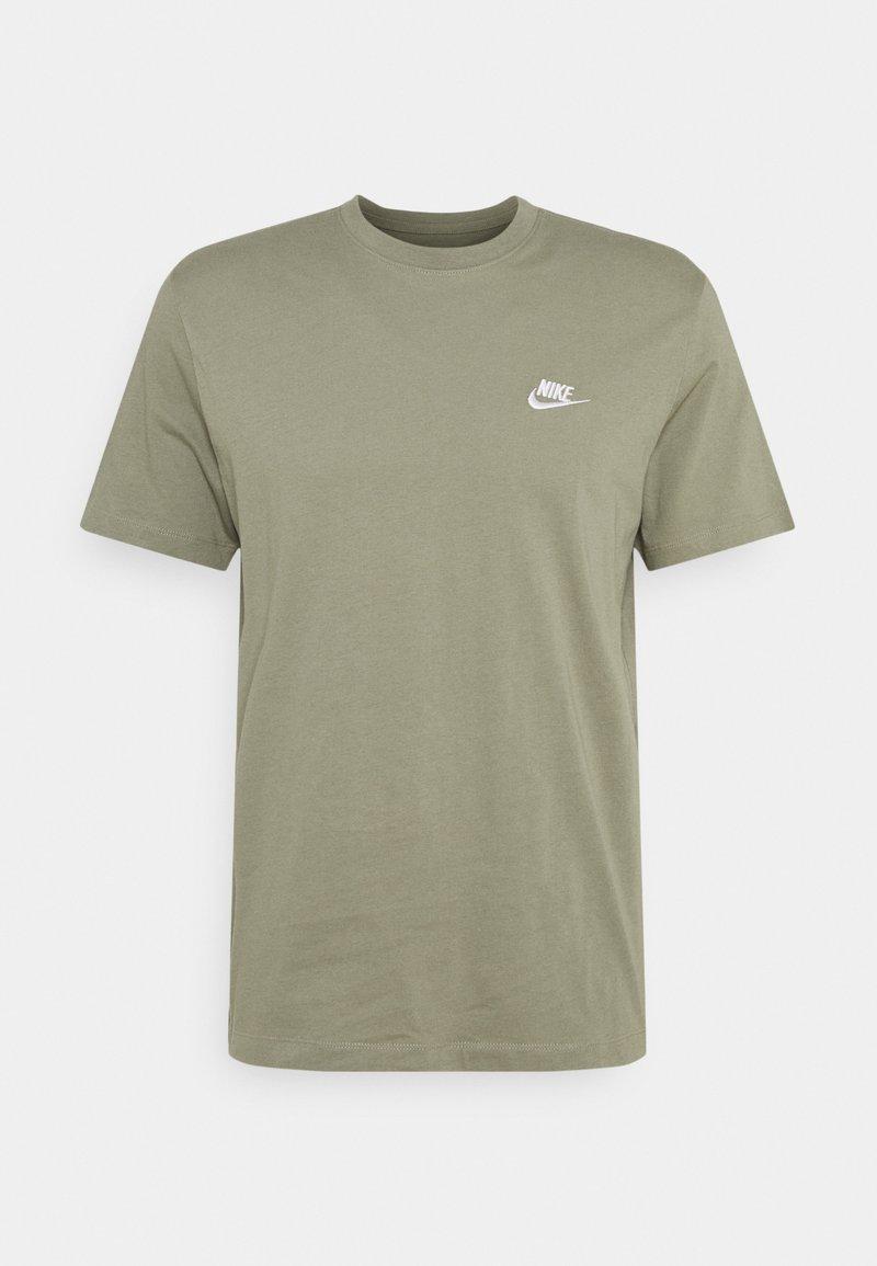 Nike Sportswear - CLUB TEE - Basic T-shirt - light army/white