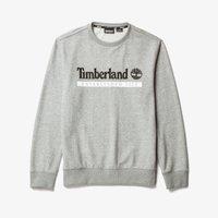 Timberland - Felpa - medium grey heather-white - 4
