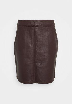BERRY MINI - Mini skirt - purple