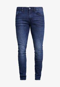 TOM TAILOR DENIM - CULVER STRETCH - Jeans Skinny Fit - used dark stone blue denim - 3