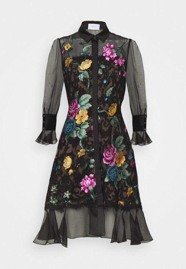 DAMASK DRESS - Cocktailklänning - black