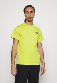 The North Face - MENS SIMPLE DOME TEE - T-shirt basic - citronellegreen - 0