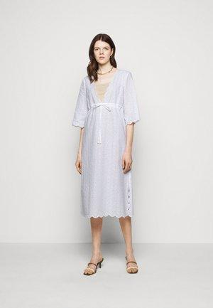 MIDI BEACH TUNIC DRESS - Day dress - white