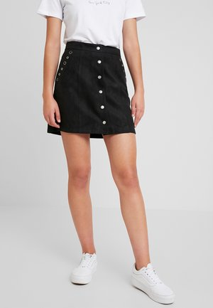 PAMPA - A-line skirt - black