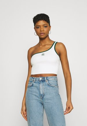 TENNIS LUXE ASYMMETRIC ORIGINALS - Top - off white