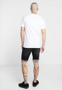 G-Star - GRAPHIC LOGO SLIM - T-shirt con stampa - white - 2