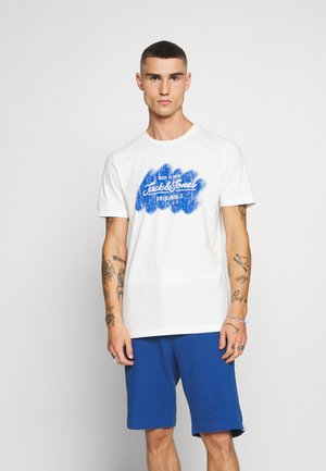 JORTORINO TEE CREW NECK - T-shirt print - cloud dancer