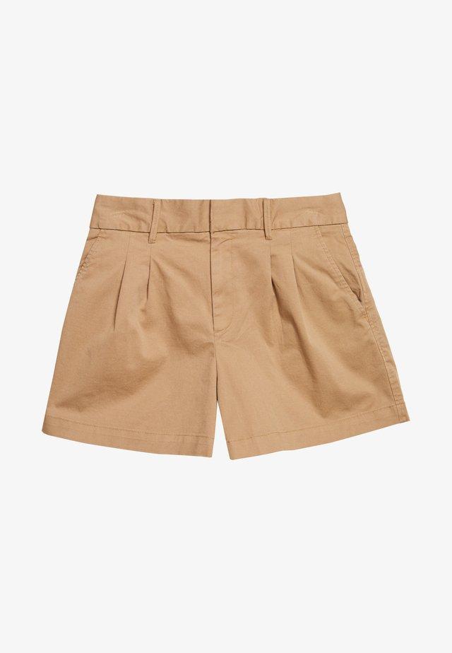 PLEATED - Shorts - mojave