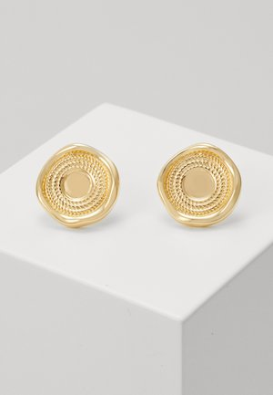 ROPE STUD EARRINGSIN  - Earrings - gold-coloured