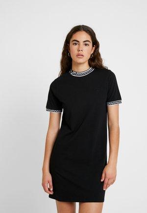 HIGH ROLLER V - Jersey dress - black