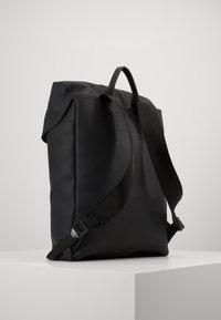 Armani Exchange - BACKPACK - Reppu - black - 2