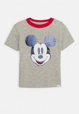 TODDLER BOY MICKEY GRAPHICS - T-shirt z nadrukiem - grey heather