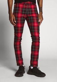 Topman - CHECK WHYATT - Kalhoty - multicolor - 0
