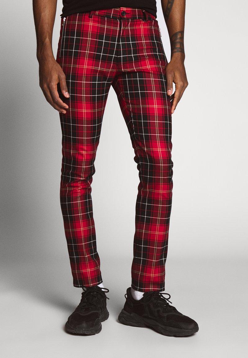 Topman - CHECK WHYATT - Kalhoty - multicolor