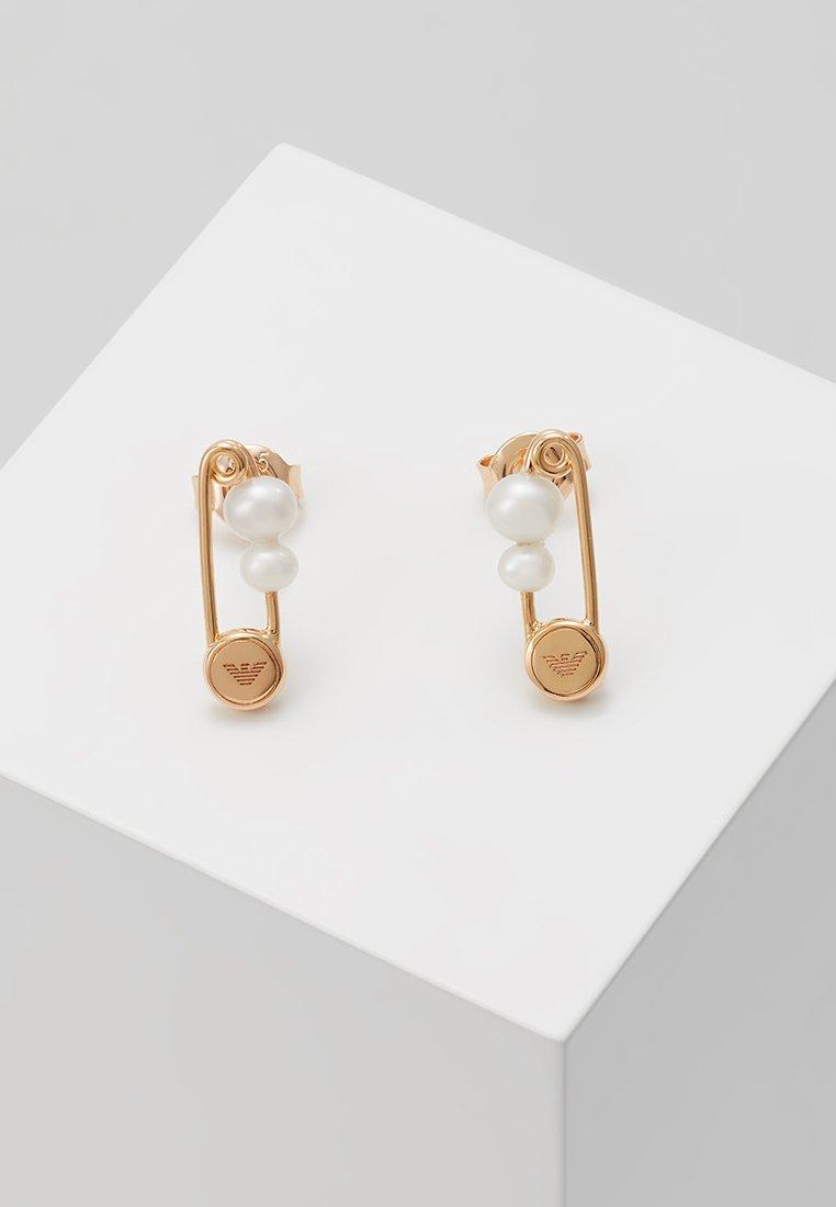 Emporio Armani - Earrings - roségold-coloured